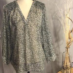 Ladies sheer blouse